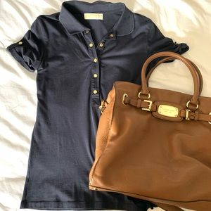 Michael Kors Polo with gold details